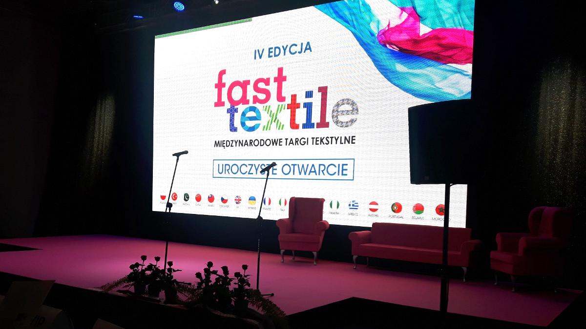 otwarcie targi fast textile