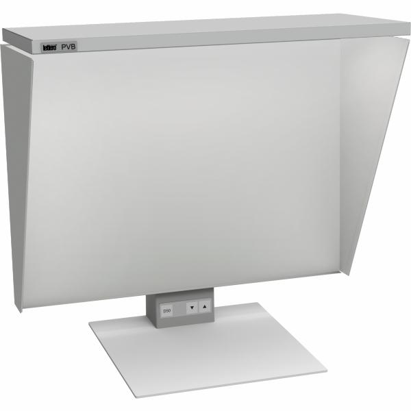 PVB 501/1 C illuminator LED with curtains