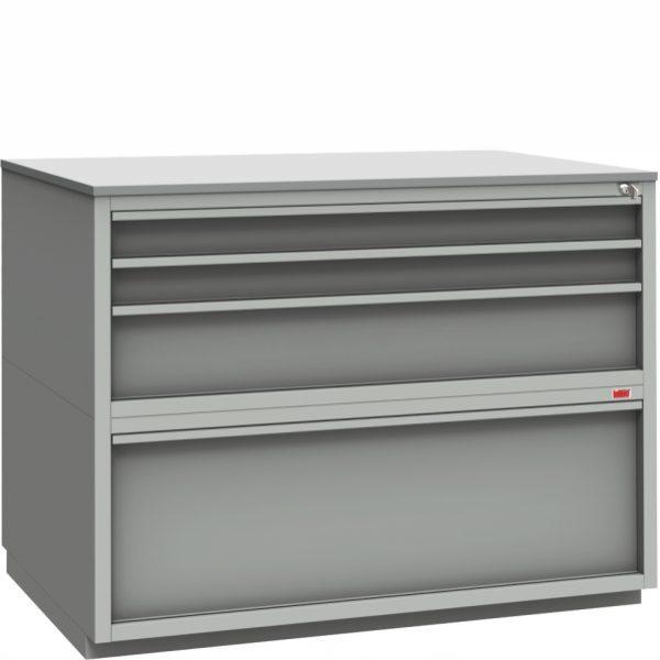 sekcja szufladowa do stanowiska kontrolnego ss-b1-3-1