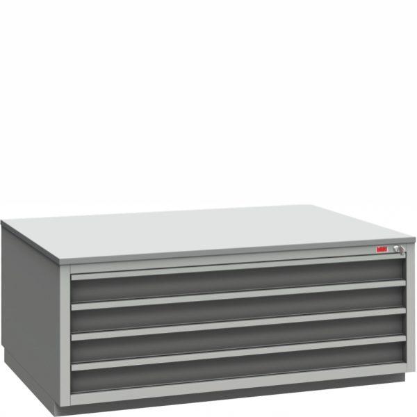 sekcja szufladowa do stanowiska kontrolnego ss-b1-4