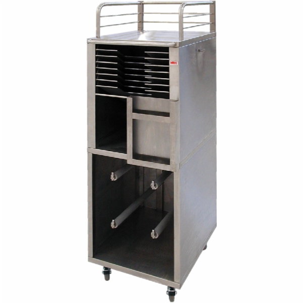 Trolley-rack for plates and screens WSRC