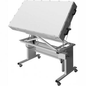 stół podwietlany z regulacją n-115-2