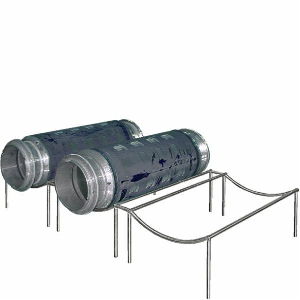 Rack for cylindrical screens SSC