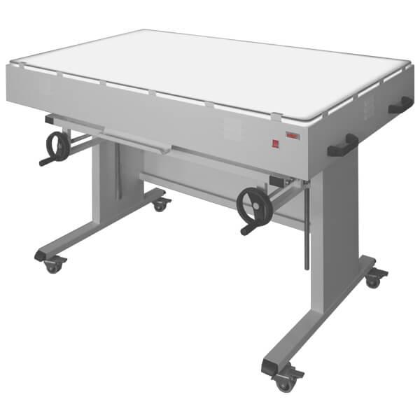 stol podswietlany regulowany recznie n-115