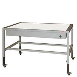 stol podswietlany z regulacja wysokosci