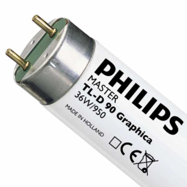 Fluorescent tube-philips-36-950