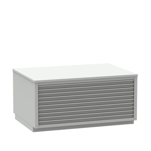 Drawer cabinets for photopolymers