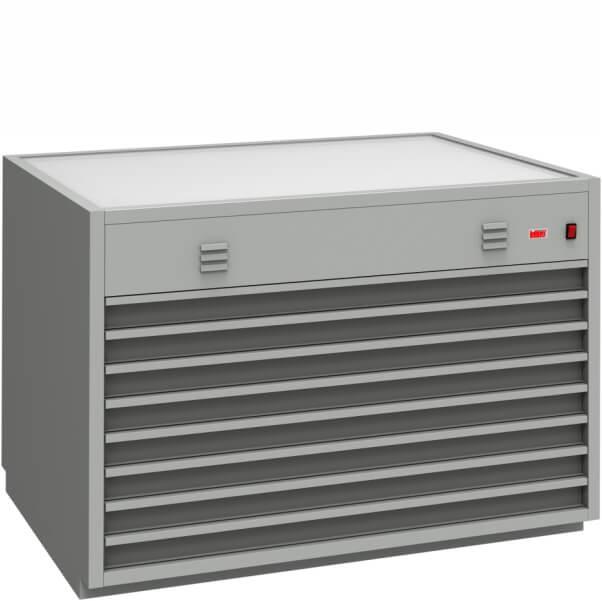 szafa szufladowa z podświetlaczem szsm-b1-8