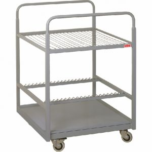 Dryer trolley for offset plates