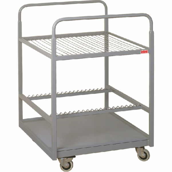 Cart-dryer for offset plates WSB