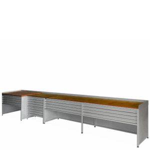 ciąg stołów roboczych n-121
