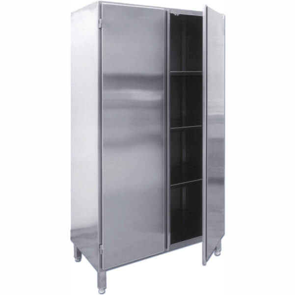 Cabinet with adjustable feet