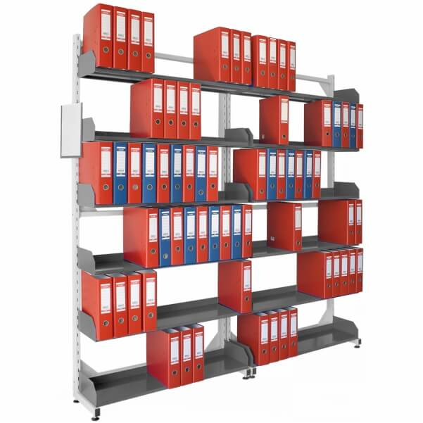 Shelving for libraries 12 shelves RMB-2