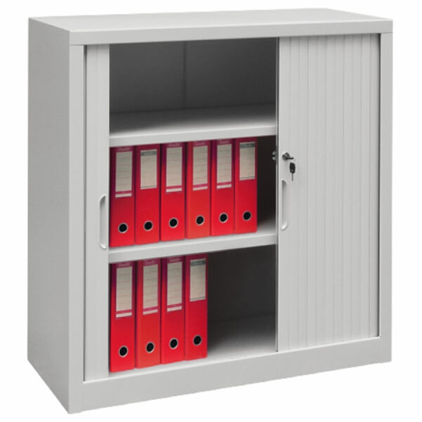 Roll-front cabinets