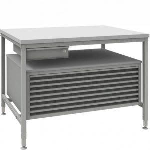 System stołów roboczych