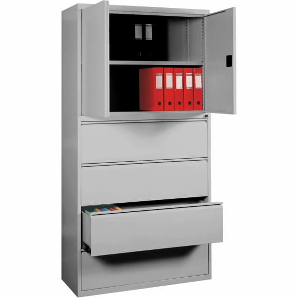 Storage combination units with doors and drawers skb-1