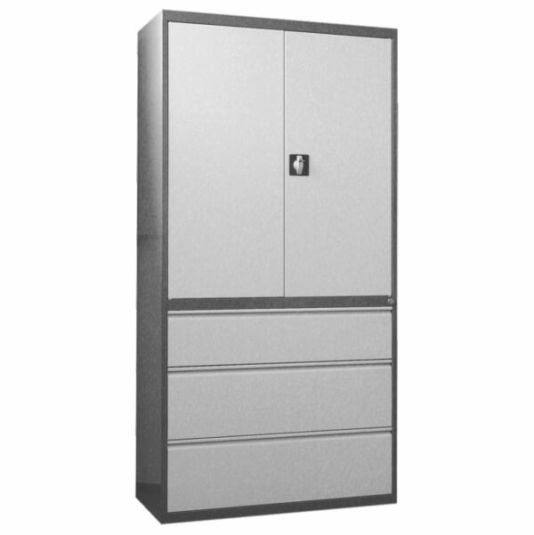 Storage combination units with doors and drawers SKB-2