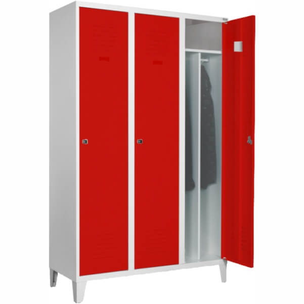 Metal wardrobe locker SUM 431