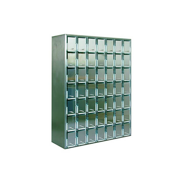 List cabinet, 49 drawers